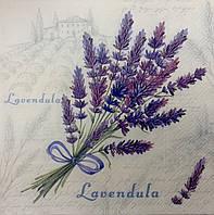 Салфетка для декупажа с цветами (33*33 см.)