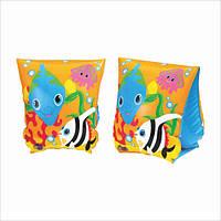 Нарукавники детские надувные «Рыбки» 58652 Intex, 23х15см
