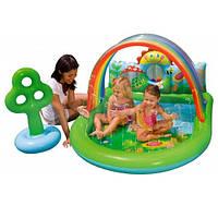 Детский надувной игровой центр «Лужайка» 57421 Intex, 155х130х84 см