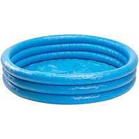 Бассейн детский надувной «Хрустальный круг» 58426 Intex, 147х33 см