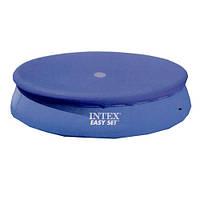 Тент для надувных бассейнов диаметром 244 сантиметра 28020 Intex