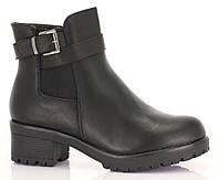 Женские ботинки из эко кожи на молнии размеры 37,38,40