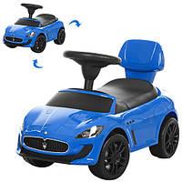 Детская каталка-толокар Maserati Z 353-4 Bambi, синий