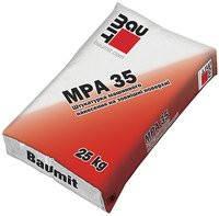 Baumit MPA 35  (цементно-известковая штукатурная смесь для наружных работ 25кг)