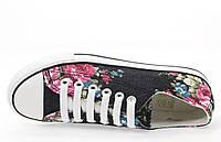 Цветные женские кеды на шнуровке