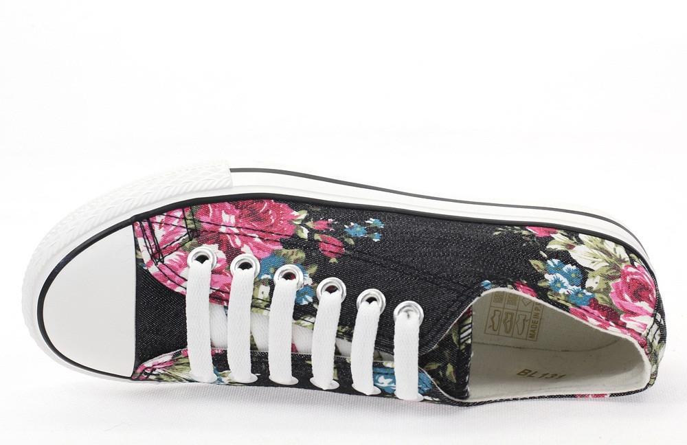 Цветные женские кеды на шнуровке - Booms.com.ua - большой выбор товаров по доступным ценам! в Киеве