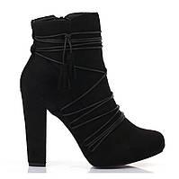 Женские ботинки на высоком каблуке размер 38,39