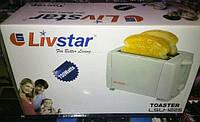 Тостер для хлеба Livstar LSU-1225, 700 Вт, регулировка степени обжаривания, автоматическое отключение