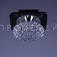 Хрустальная люстра на 1 лампочку P3-4601MC/1C/CR+WT
