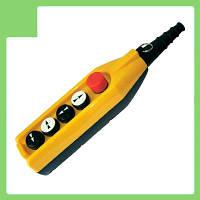 Пульт управления 5 кноп. (аварийный стоп d=30mm) (2 скорости) PV5E30B44 EMAS