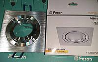 Точечный светильник алюминиевый Feron DL6120 MR16, G5.3