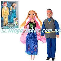 Кукла Холодное сердце/Frozen Семья: 2 вида, размер 30см