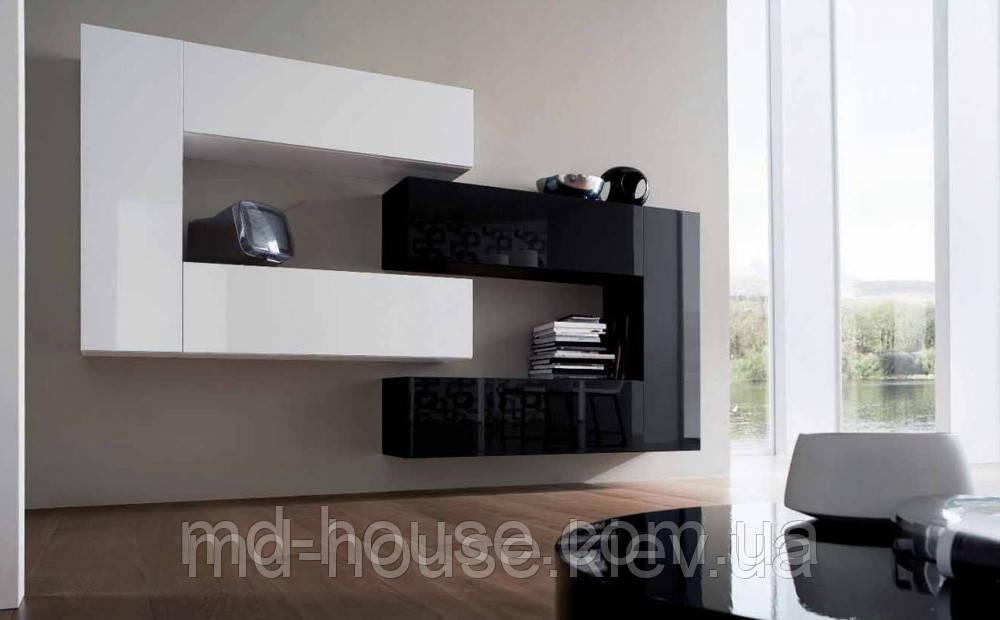 стенка черно белая в гостиную твин цена купить в киеве Promua