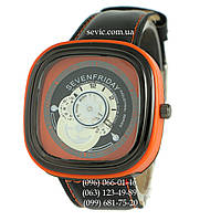 Наручные часы Sevenfriday Leather Orange-Black