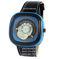 Наручные часы Sevenfriday Leather Sky-Blue-Black