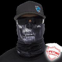 "Face Shield  ""Skull Tech | Crow"""