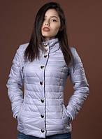 Женская курточка с рельефными швами