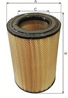 Фільтр повітряний SCANIA (в-во Boss-filters)