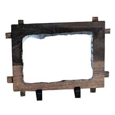 Фотокамень в рамке Small Rectangle with frame SH38