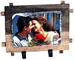 Фотокамень в рамке Small Rectangle with frame SH38, фото 2