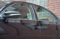 Окантовка стекол VW Jetta (2011+) 6 шт.
