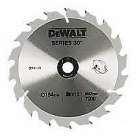 Диск пильный DeWALT DT1938 (США/Китай)