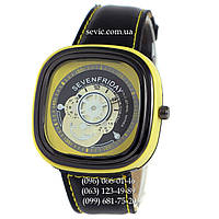 Наручные часы Sevenfriday Leather Yellow-Black