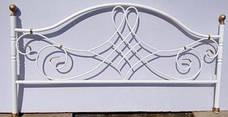 Кровать металлическая Парма Металл дизайн / Parma Bella Leto, фото 3