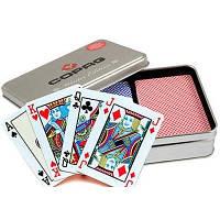 Карты покерные Gopag в металлическом боксе