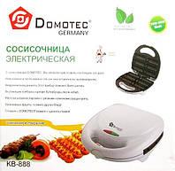 Сосисочница электрическая Domotec KB-888: 6 порций, антипригарное покрытие, 800 Вт