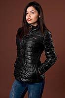 Черная классическая курточка