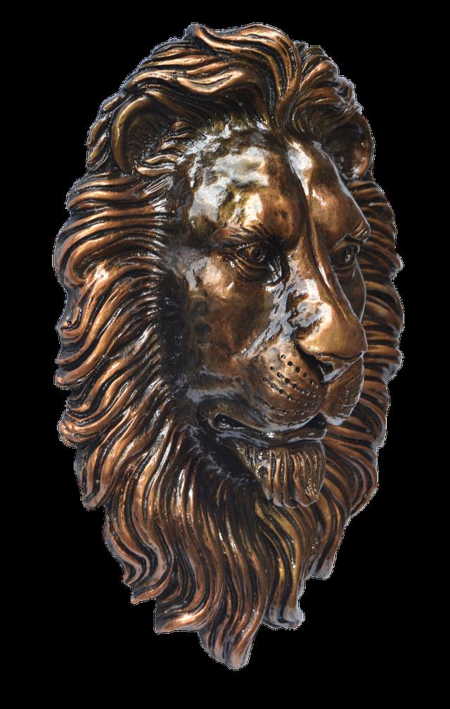 Голова льва на ворота