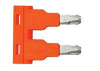 Перемычка ONKA-1800 для клемм сечением 2,5 мм2 х 2 полюса.