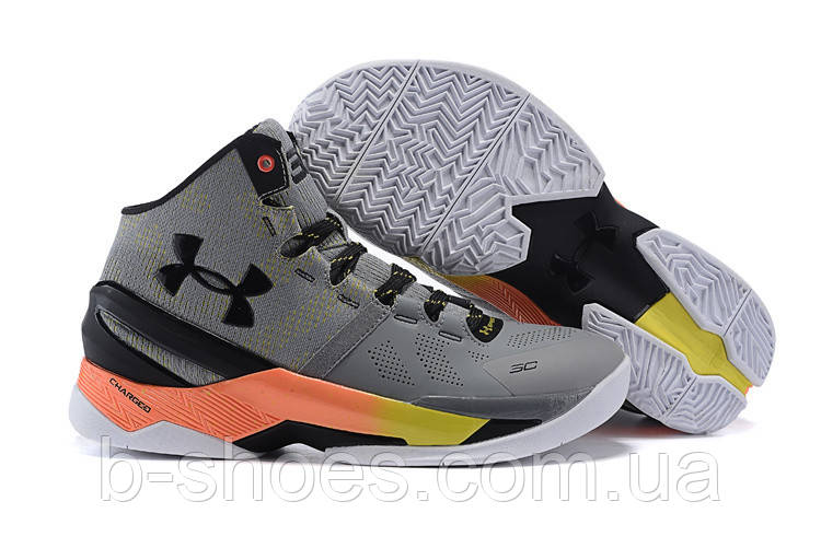 Детские кроссовки UNDER ARMOUR CURRY 2 (Iron Sharpens Iron)