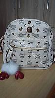 Рюкзак из эко-кожи с шипами для девочек