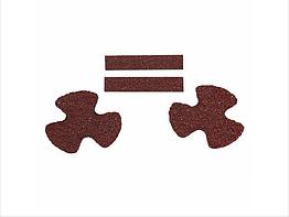 Комплект абразивних елементів для зачищення ULTIMATE