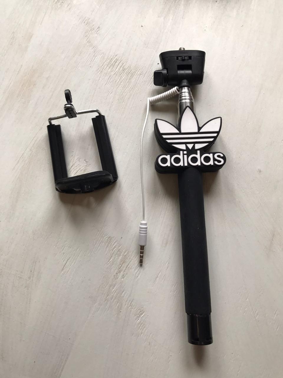 Монопод (селфи палка) Адидас для телефона