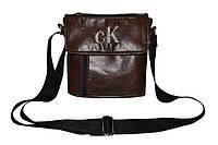 """Мужская сумка """"ck"""" размер L - 25 см х 21 см"""