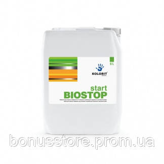 Средство для защиты поверхности от грибков и плесени Kolorit  Start Biostop,Колорит  Старт Биостоп 1л - ПРОФ-ХИМ express в Виннице