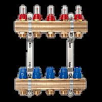 """STA 1""""х3/4"""" 5 выходов группа коллекторная с расходомерами"""