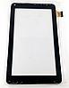 Оригинальный тачскрин / сенсор (сенсорное стекло) для Kingvina 135 FHX (черный цвет, самоклейка)