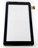 Оригинальный тачскрин / сенсор (сенсорное стекло) Assistant AP-714 Fun (черный 186*106 30pin тип2 самоклейка)