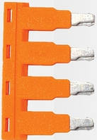 Перемычка ONKA-1802 для клемм сечением 2,5 мм2 х 4 полюса