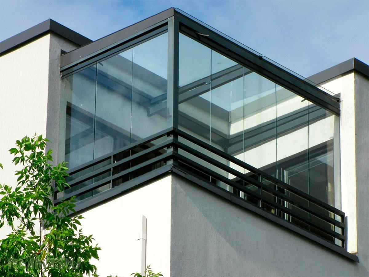 Безрамное остекление балконов, террас и веранды