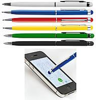 Ручка-стилус металлическая с логотипом