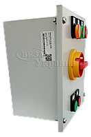 Шкаф управления вентилятором системы противодымной вентиляции SAU-PPV-0,38-0,65