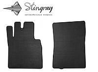 Резиновые коврики Stingray Стингрей Мерседес Бенц W463 1990- Комплект из 2-х ковриков Черный в салон. Доставка по всей Украине. Оплата при получении
