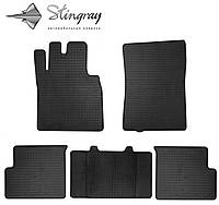 Stingray Модельные автоковрики в салон Мерседес Бенц W463 1990- Комплект из 5-и ковриков (Черный)