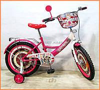 Детский велосипед для девочки Tilly Автоледи 18 дюймов