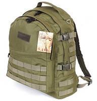 Тактический армейский супер-крепкий рюкзак 30л олива. Армия, рыбалка, туризм, охота, спорт